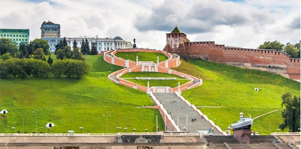 До Нижнего Новгорода и Ярославля